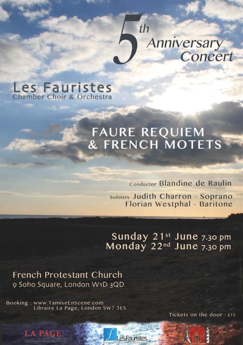 5th Anniversary Concert - June 2015
